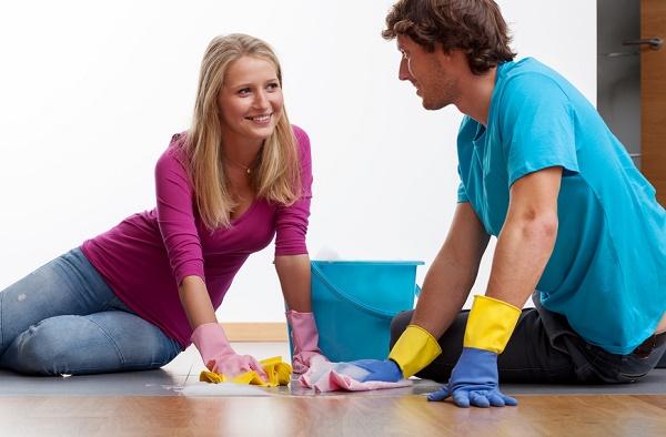 pulizie di coppia