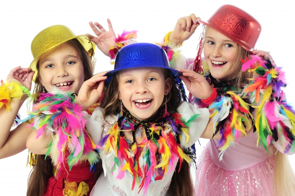 bambini festa di carnevale