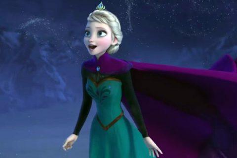 Corona di Elsa Frozen fai da te