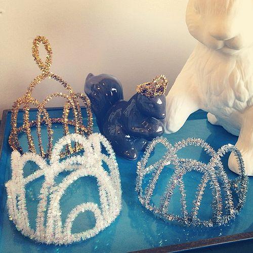 corona di Elsa di Frozen fai da te