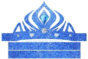 Corona di Frozen fai da te