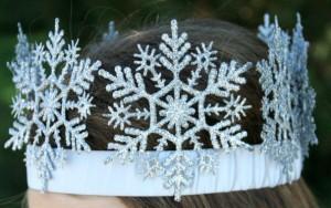 come realizzare corona stile frozen