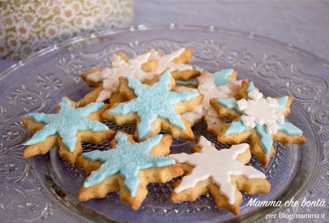 Biscotti di Frozen pasta frolla e pasta di zucchero