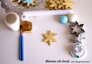 Biscotti di frozen, occorrente per tutorial
