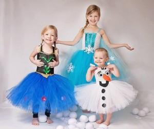 Costume di carnevale personaggi Frozen fai da te