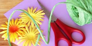 Biglietti fai da te con fiori per la festa della donna e la festa della mamma