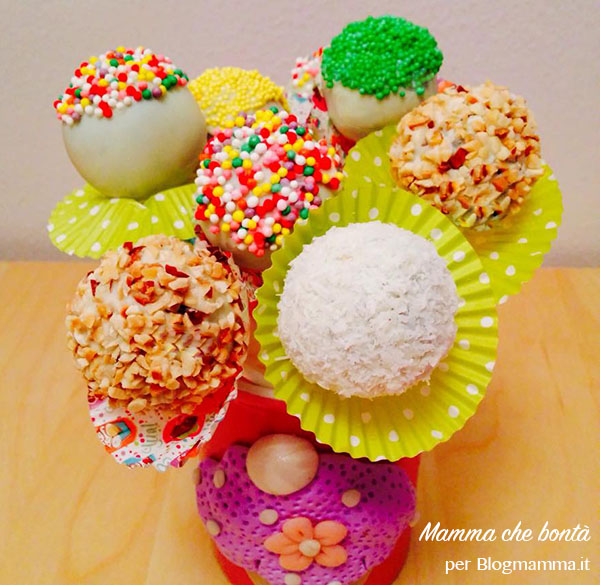 come fare i cake pop