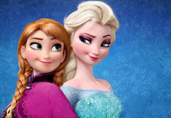 Abbigliamento sportivo di Frozen_elsa-e-anna-frozen