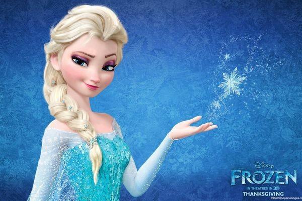 Treccia di Elsa Frozen fai da te