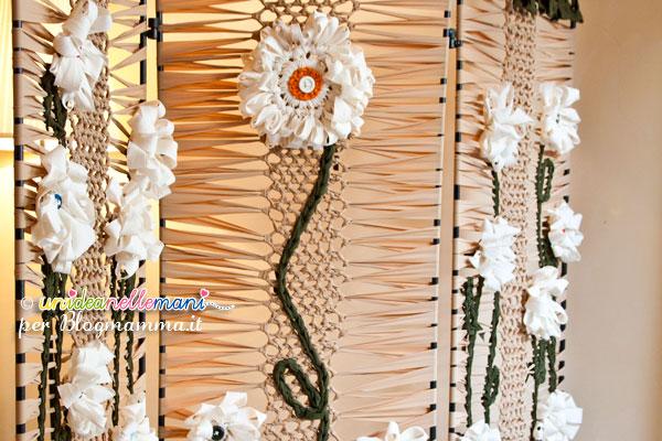 fiori all'uncinetto applicazioni