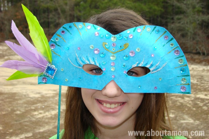 come fare maschere di Carnevale fai da te