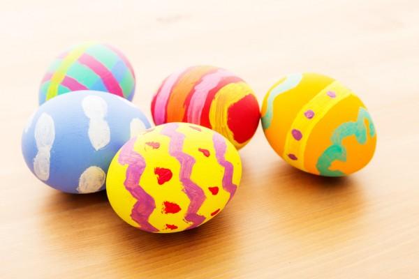lavoretti di Pasqua facili per scuola materna