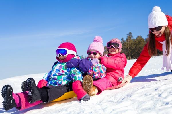 Settimana bianca con i bambini piccoli