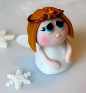 cake topper angelo in pasta di zucchero