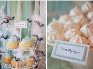 buffet dei dolci per cerimonie cartoncini