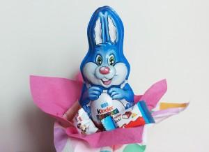 coniglietto di cioccolato kinder