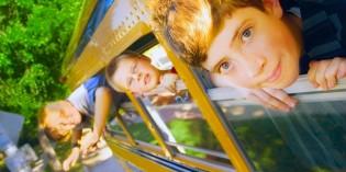 figli in gita scolastica