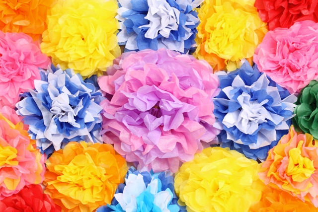 Preferenza Fiori di carta velina: idee creative fai da te : Blogmamma.it WH41