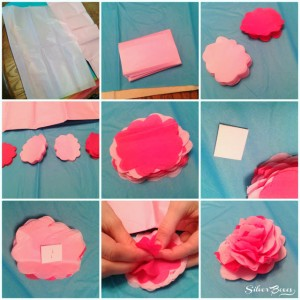 fiori di carta velina facili_tutorial