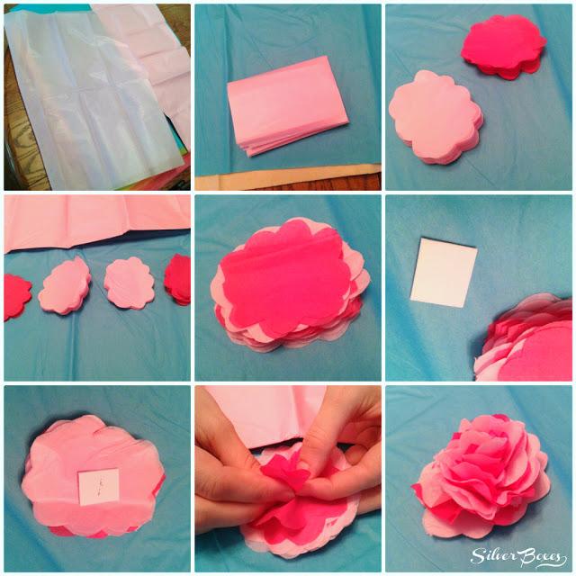 fiori di carta velina facili_tutorial