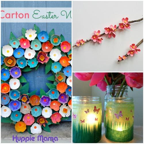 Collage di lavoretti per la primavera for Lavoretti di primavera