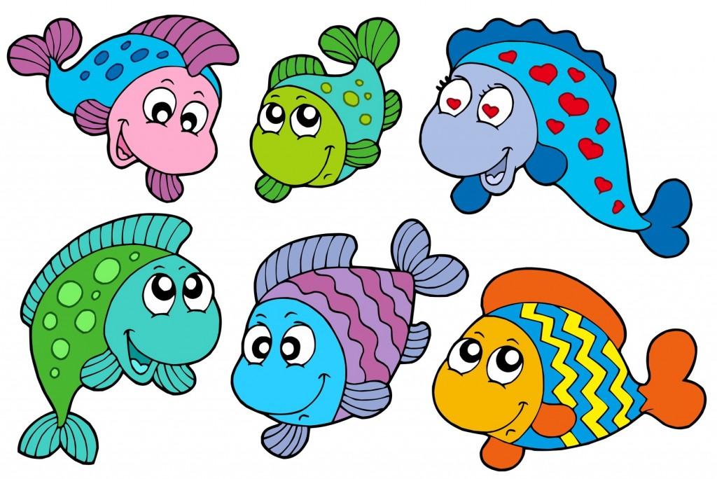Pesci d 39 aprile for Disegni di pesci da colorare e stampare