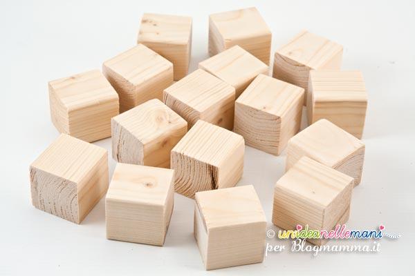 pezzi di legno