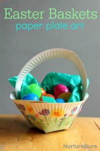 come fare un portaovetti con piatti di carta