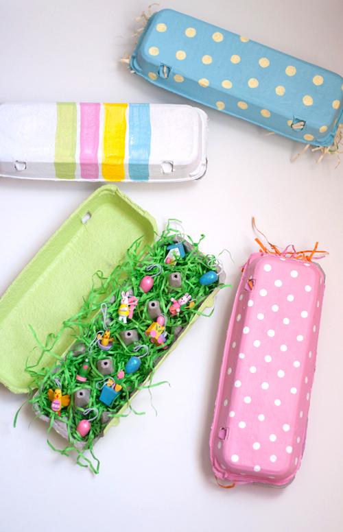 Porta uova di cartone decorati per pasqua - Uova di pasqua decorati ...