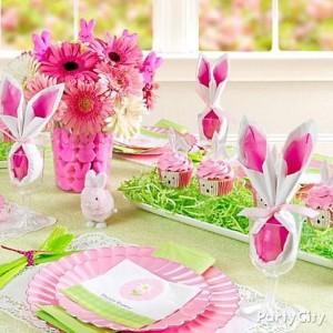 tavola di Pasqua_con coniglietti