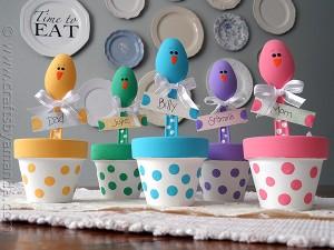 tavola di Pasqua_segnaposto vasetto con cucchiaino