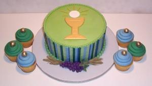 torta prima comunione da maschio_calice