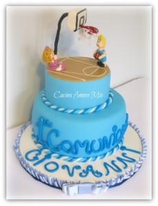 torta prima comunione da maschio_hobby