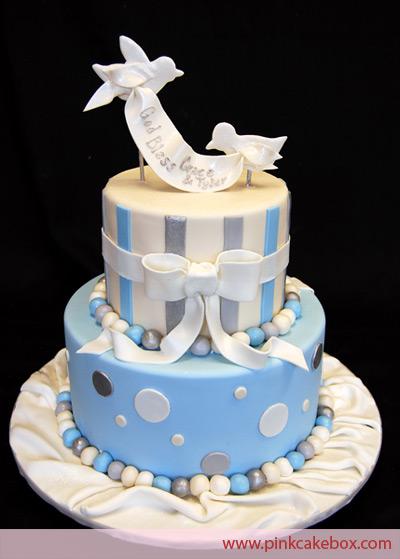 torta prima comunione da maschio_uccellini