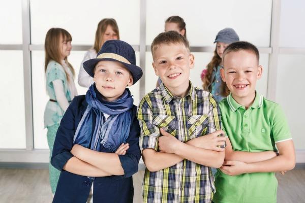 Abbigliamento spotivo da viaggio per bambini
