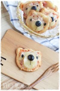 Festa a tema Masha e Orso_pizzette orsetto