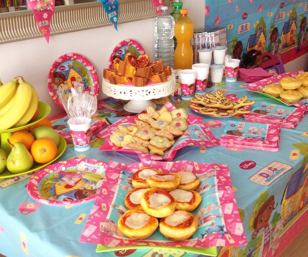 Festa a tema dottoressa peluche_buffet
