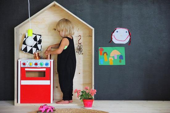 casette di legno per arredare camerette