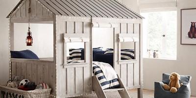 casette in legno per arredare le camerette