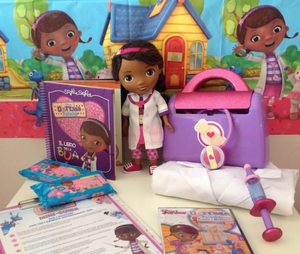 festa a tema dottoressa Peluche_kit festa