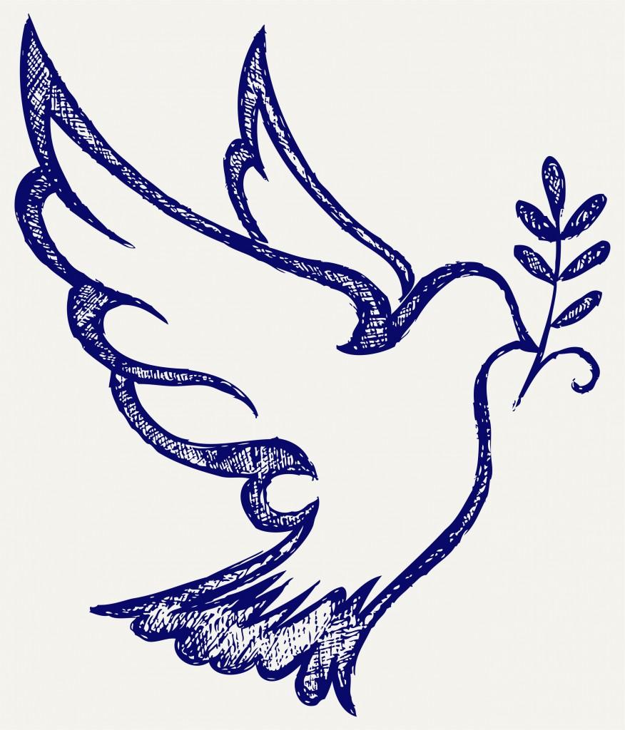Favorito colomba stilizzata per biglietti di invito Cresima - Blogmamma.it  OY25