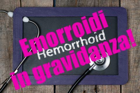 Emorroidi in gravidanza