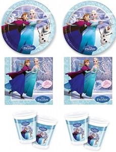 Festa a tema Frozen_addobbi per tavola