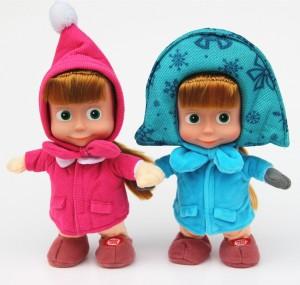 Giochi di Masha e Orso da comprare online_pupazzi Masha versione invernale