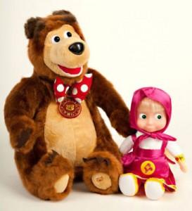 Giochi di Masha e Orso da comprare online_pupazzo e peluche