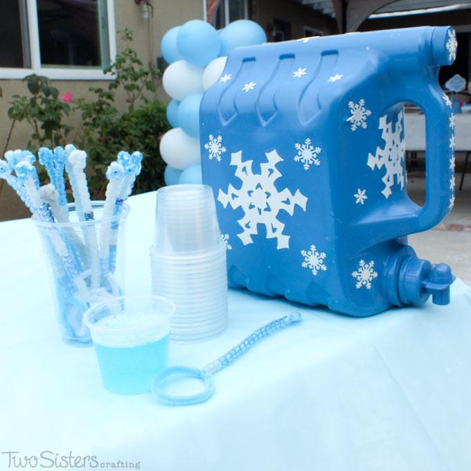 Giochi per una festa a tema Frozen_bolle di sapone