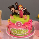 Torte Masha e Orso _rosa