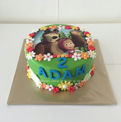 Torte Masha e Orso_con cialda