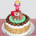 Torte Masha e Orso_panna e fragole copia