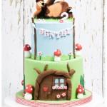 Torte Masha e Orso_tre piani